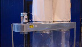 Filtro Carrellato per impianto di aspirazione